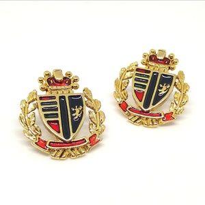 Coat of arms earrings